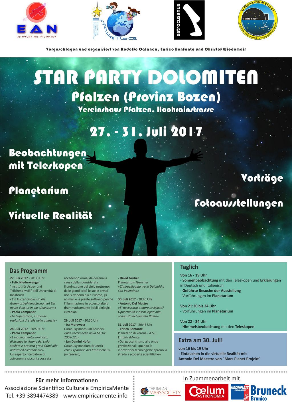 Poster/Invitation of the Star Party